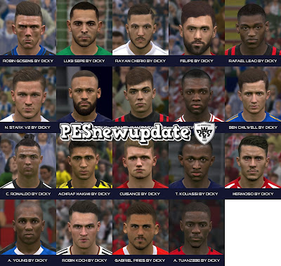 PES 2017 Facepack April 2020 by Dicky