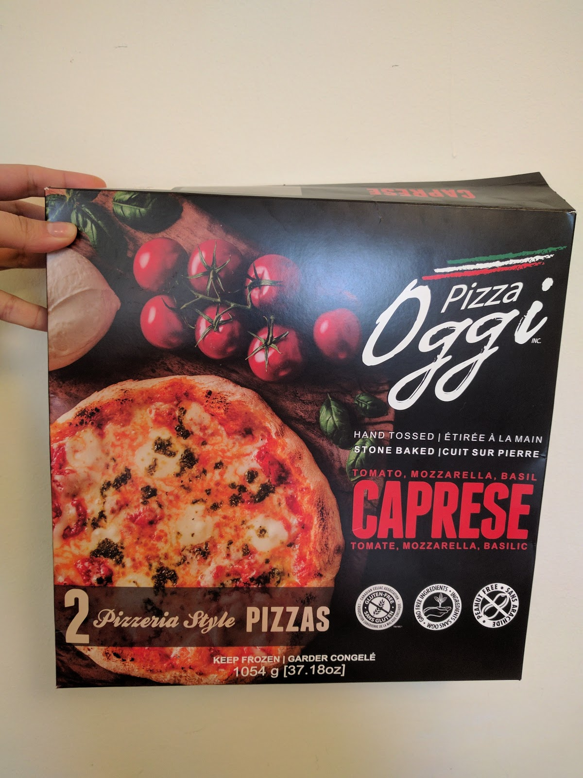 Pierre A Pizza Oggi Pizza Caprese Product Review Girlcology