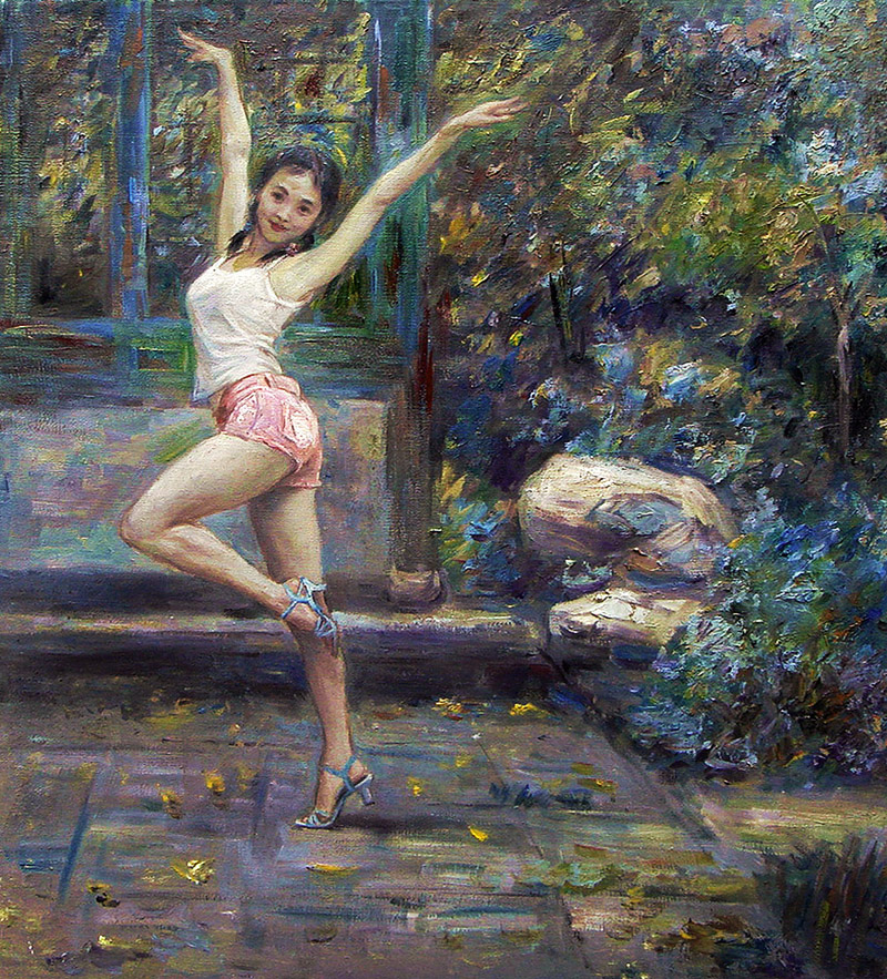 """Ladies Dance"" by Wei Qing"