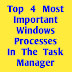 Top 4 Most Important Windows Processes In The Task Manager