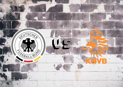 Alemania vs Holanda  Resumen y Partido Completo