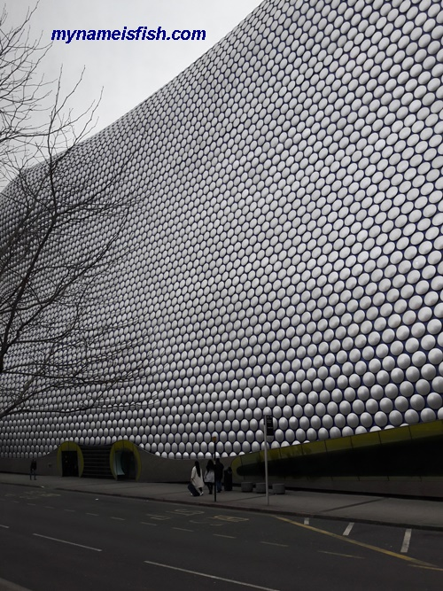 The Bullring in Birmingham, England, one of the most interesting places in the United Kingdom