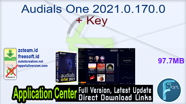 Audials One 2021.0.170.0 + Key _ ZcTeam.id