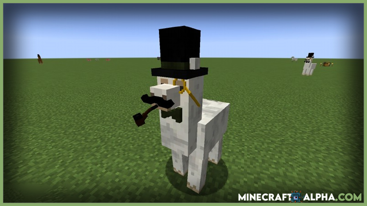 Minecraft Better Than Llamas Mod 1.17.1 (Dapper Llamas)