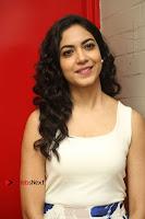 Actress Ritu Varma Stills in White Floral Short Dress at Kesava Movie Success Meet .COM 0124.JPG