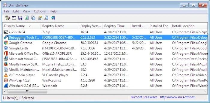 Best Uninstaller Program Windows 10 Uninstallview