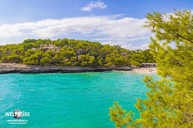 Calo den Garrot beach Mallorca Spain.