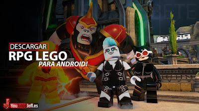 como descargar lego legacy heroes unboxed android