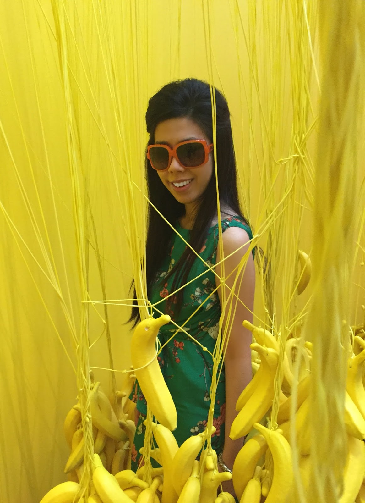 Adrienne Nguyen_Invictus_Yellow Banana Room at the Museum of Ice Cream Los Angeles