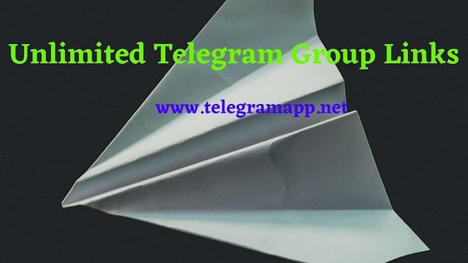 Join Unlimited Telegram Group Links