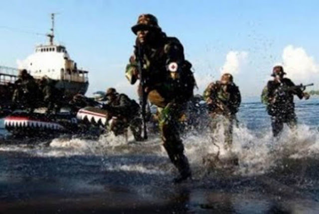 Satuan TNI Terintegrasi Berikan Daya Tangkal di Natuna
