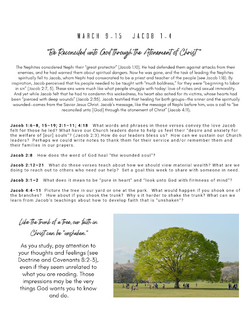 Free printable for Come Follow Me home study  |  The Church of Jesus Christ of Latter Day Saints