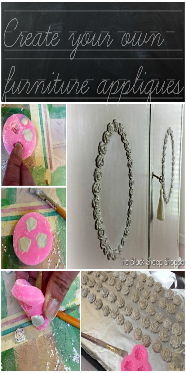 How to make your own furniture appliques