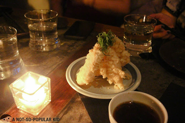 Salmon Belly Tempura of Nikkei
