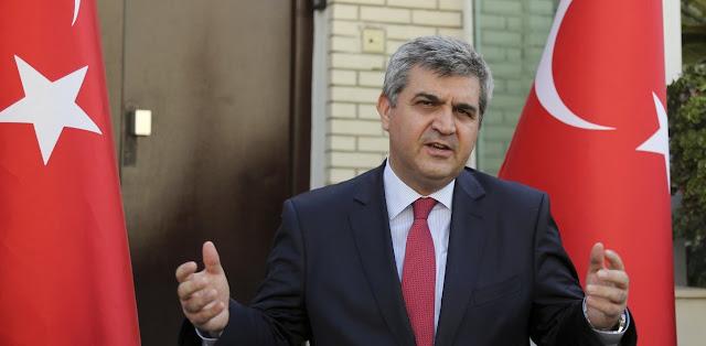 Ανάρτηση του Τούρκου υφυπουργού Εξωτερικών κατά Μάνφρεντ Βέμπερ