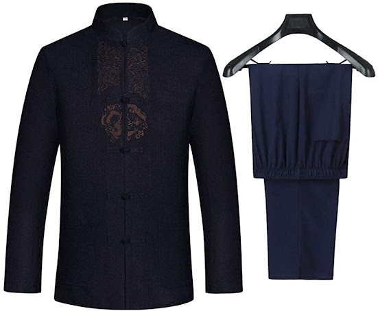 Chinese Traditional Cheongsam Suit Tang Suit For Male