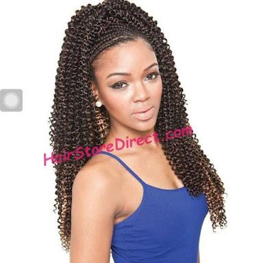 Stunning Corkscrew Braids for Ladies