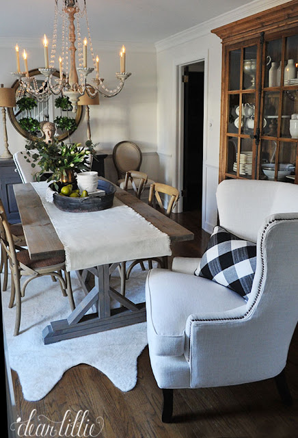 dear lillie birch lane dining room refresh