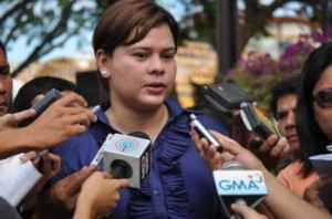 Davao Mayor Sara Duterte