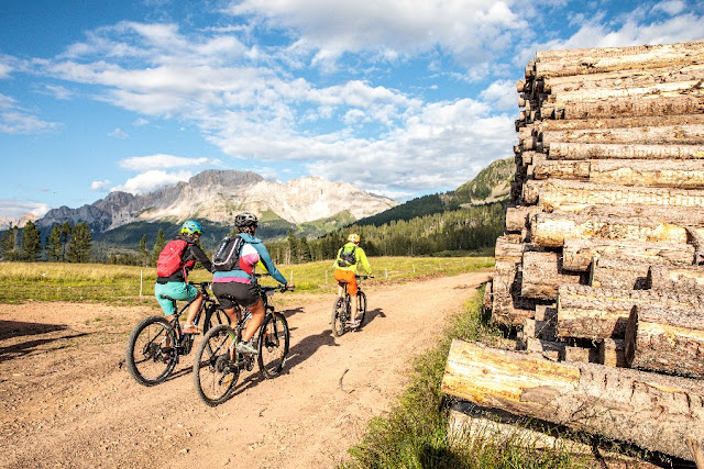 itinerari mountain bike val di fiemme