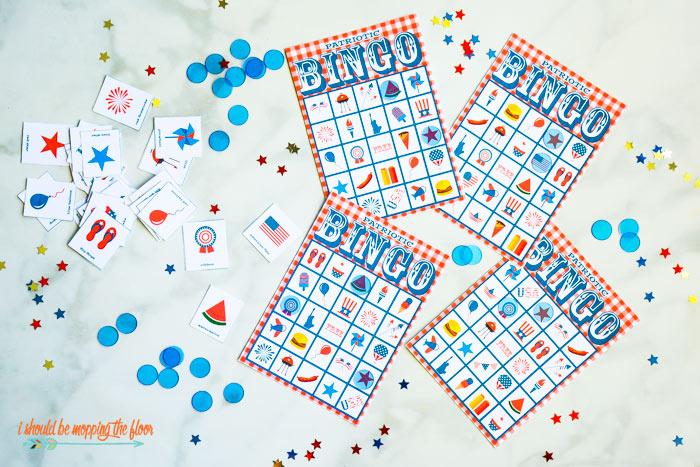 Free Patriotic Bingo Printables