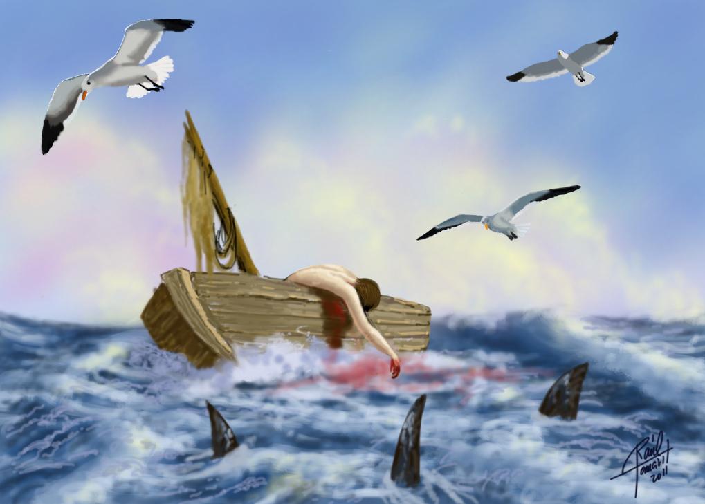Barco a la deriva. Raúl Tamarit