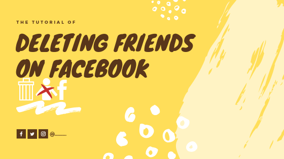 How Can I Remove A Friend From Facebook<br/>