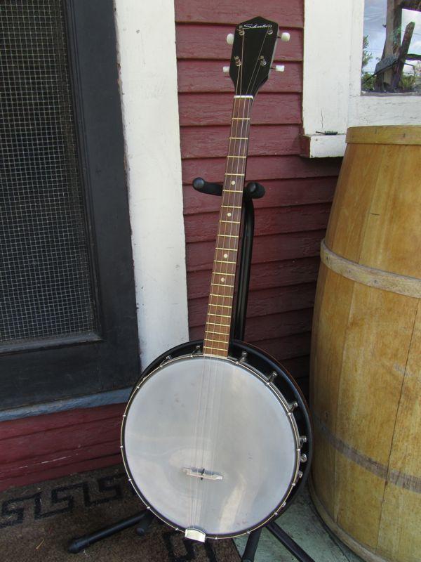 Head Tennis Bag >> Jake Wildwood: c.1960 Kay-made Silvertone Tenor Banjo