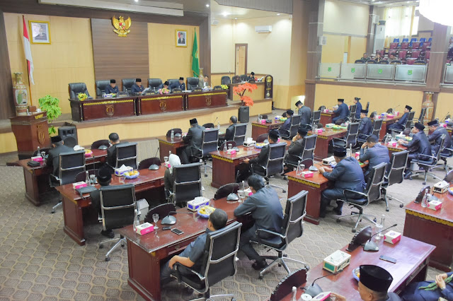 Alat Kelengkapan Dewan di DPRD Muba Resmi Terbentuk