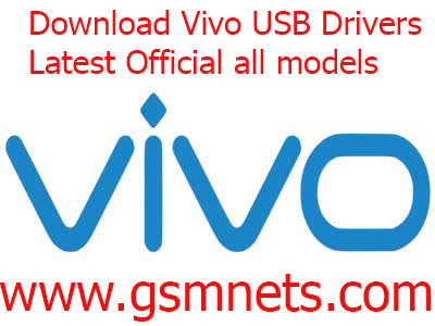 Download Vivo USB Drivers Latest Official all models