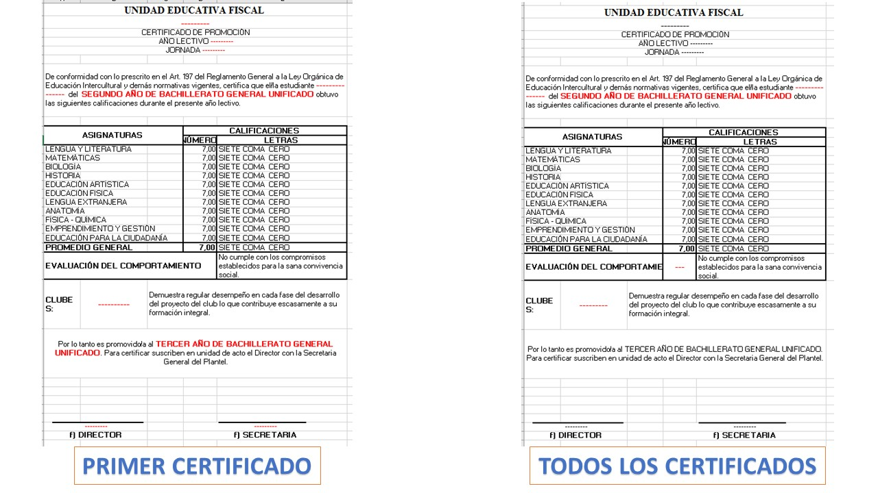 boletines en excel pictures to pin on pinterest