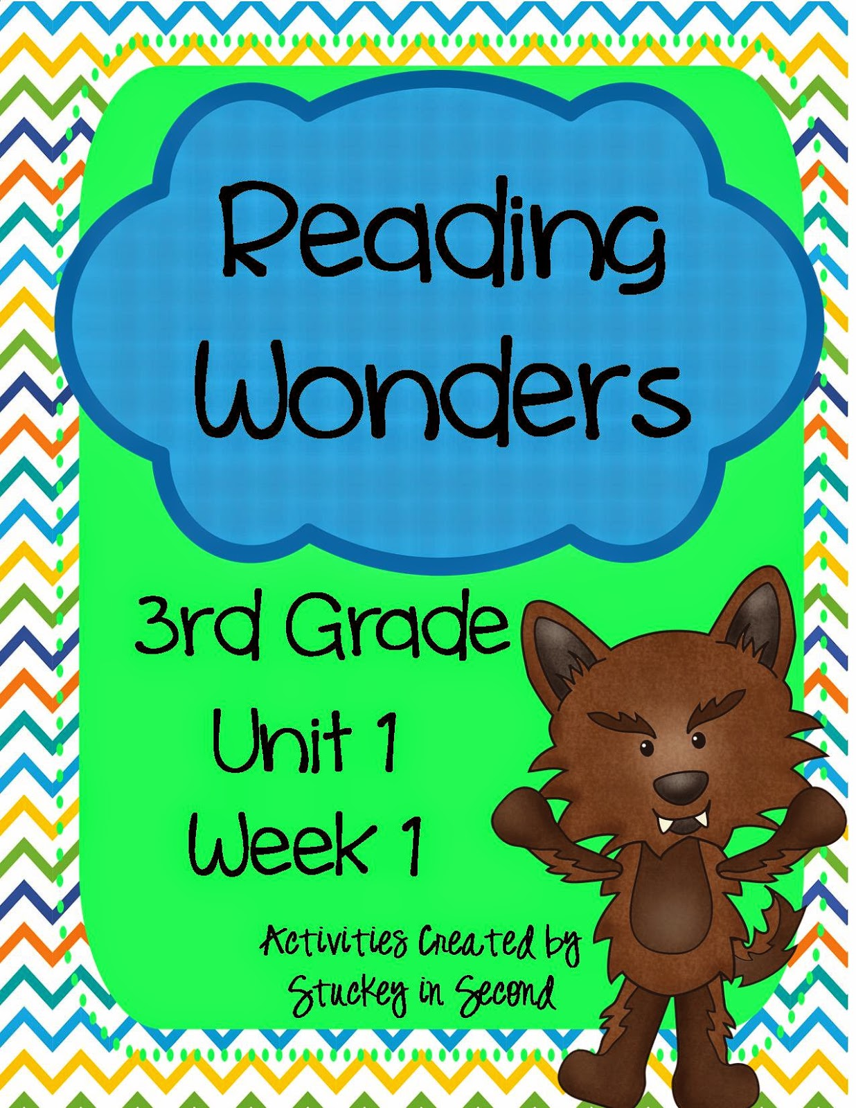 Stuckey in Second: Reading Wonders---My Thoughts After One Year