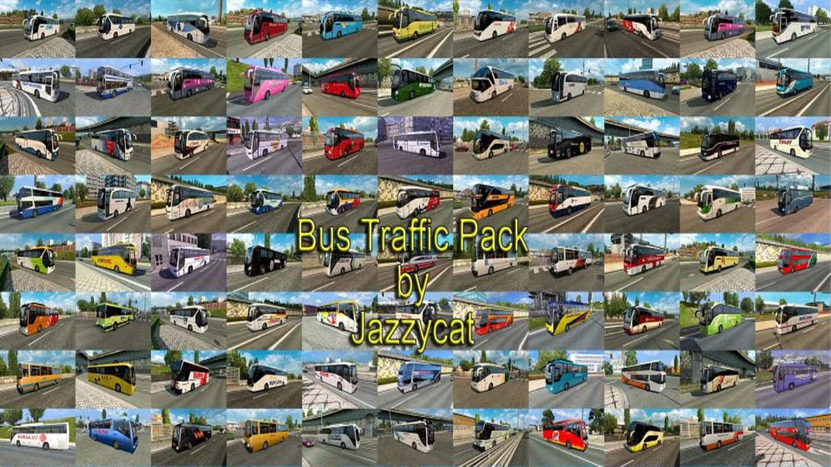 Jazzycat – Bus Traffic Pack 3.5
