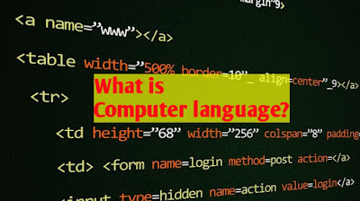 What is Computer Language, computer language