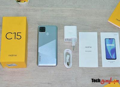 سعر و مواصفات موبايل ريلمي c15 - مميزات وعيوب هاتف realme c15