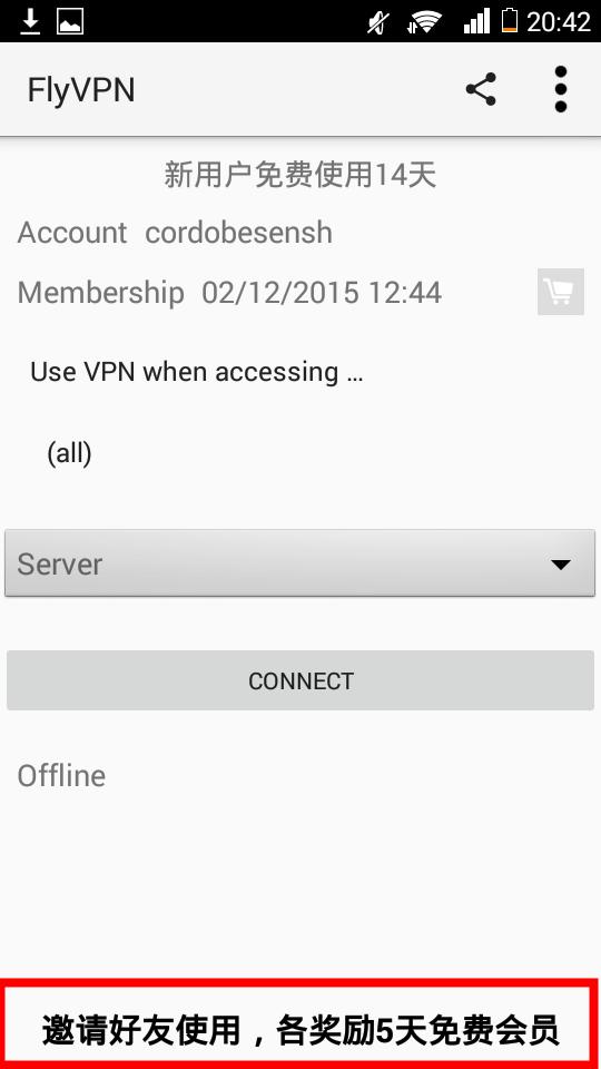 Flyvpn cuenta gratis