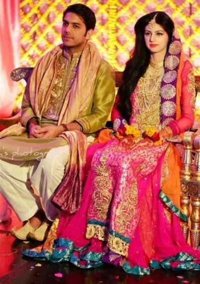 Gohar Mumtaz Amp Anam Ahmed Wedding Pictures