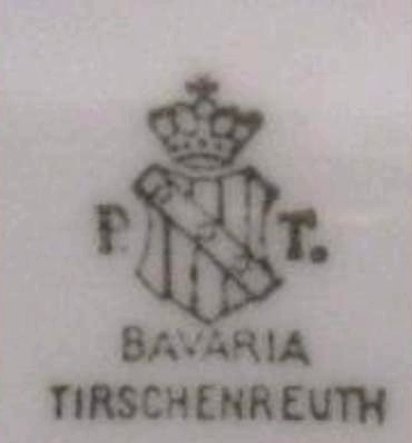 germanmilitariaww2: REINHARD HEYDRICH FORMAL PLATE BAVARIA PORCELAIN