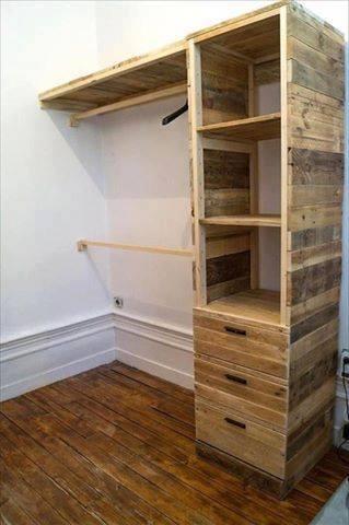 Cajas de madera recicladas para muebles y decoracin Construccion