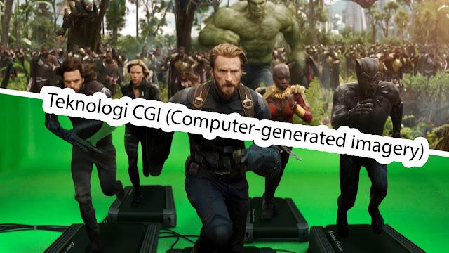 CGI (Computer-generated imagery) merupakan Penerapan bidang komputer grafis 3D untuk memberikan efek-efek khusus di dalam film, program tv, commercials, iklan, simulator, game dan simulasi lainnya.