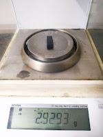 sample weight analytical balance