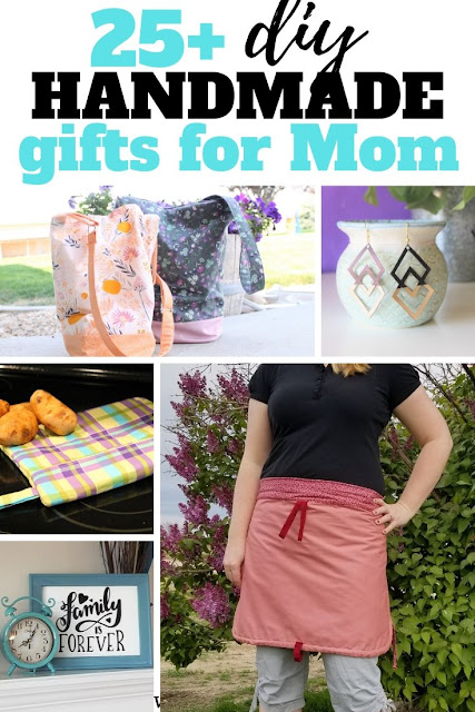 Looking for a gift for mom?  Check out these diy gifts for mom.  Great for Mother's Day, birthday or Christmas gift this year.