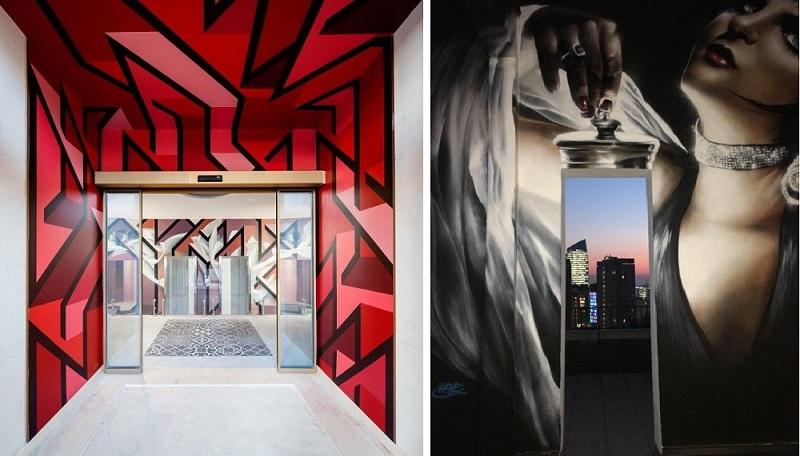 NYX Milano e l'hotel diventa opera d'arte