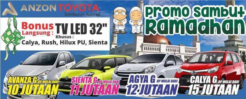 Promo Toyota di Pontianak