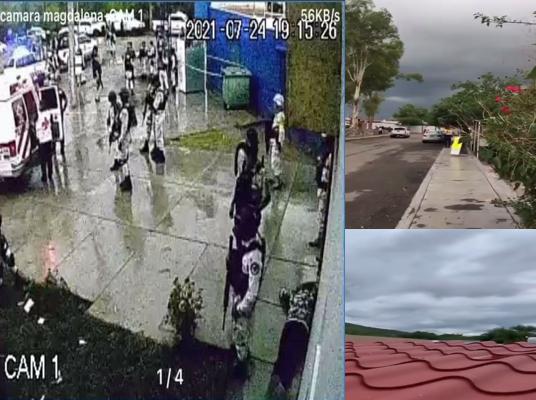 Videos: Sicarios de Los Chapitos y de El Mayo Zambada peleando en Kino, Sonora 3 días de enfrentamientos 10 Sicarios fueron capturados hasta el momento