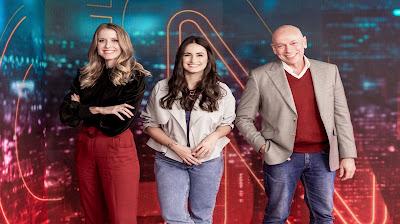 Gabriela Prioli, Mari Palma e Leandro Karnal_CNN Tonight - Divulgação