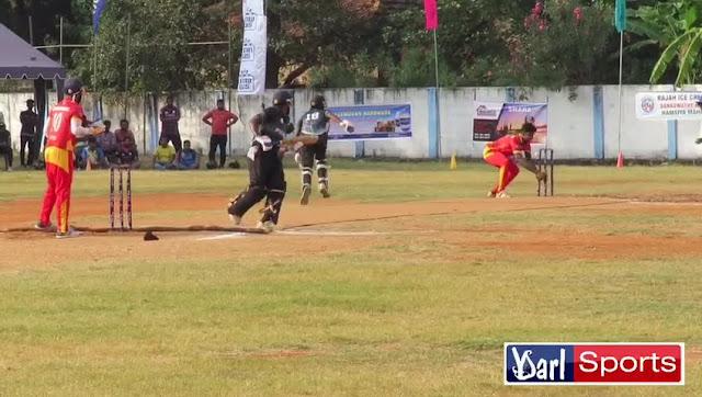 யாழ் சுப்பர் லீக் இறுதி போட்டியில் முக்கியமான கட்டத்தில் நடுவரால் வழங்கப்பட்ட தீர்ப்பு.