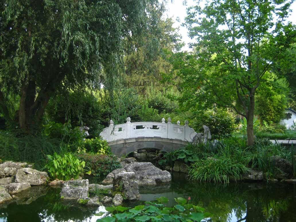 chinese garden wallpaper in hd - photo #7