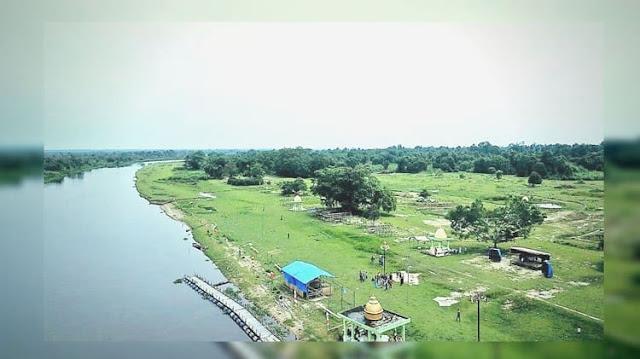 Menilik Wisata Desa Rantau Bais di Kabupaten Rohil