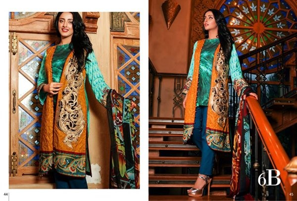Ayesha Zara Lawn collection 2016 by Al zohaib Textile